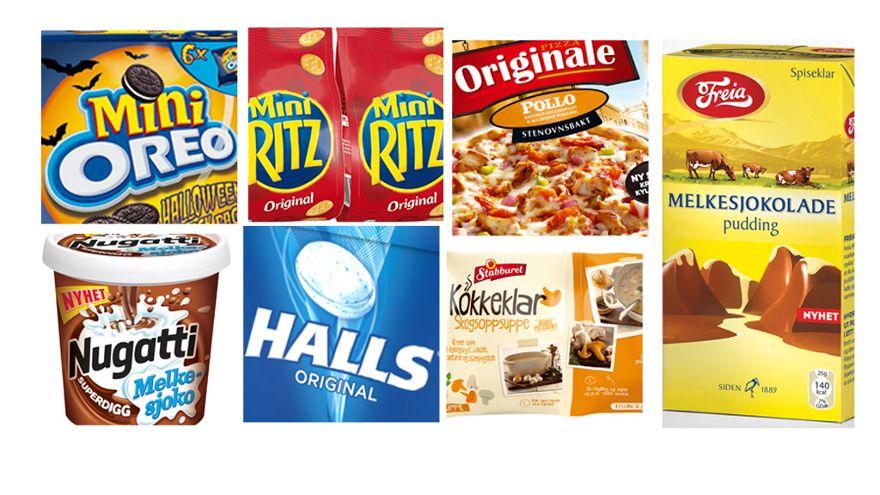 Nye produkter slippes på markedet